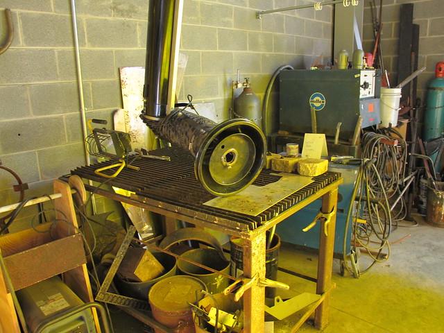 welding station