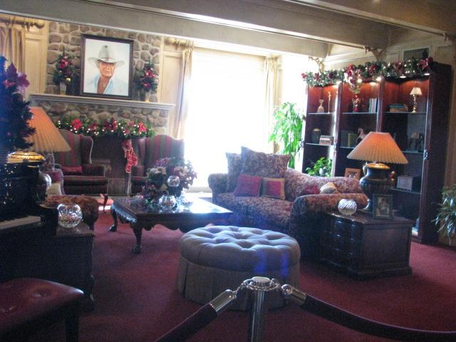 Living Room Southfork Ranch Dallas TX USA Dec 2011 Flickr Photo Sharing