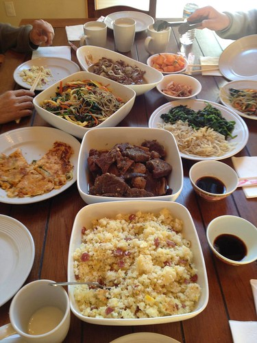 Xmas Korean Feast