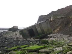 ruins, geology, terrain, coast, cliff,