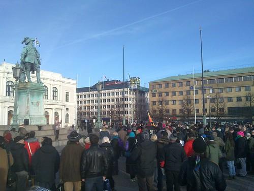 Demonstration (av människor)