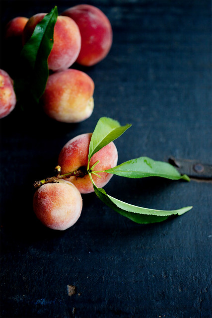 Peaches, fresh from my garden