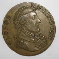 Washington Success token obverse