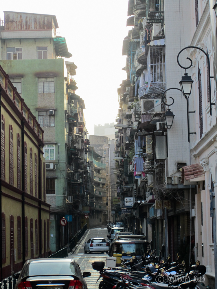 Back street of Macau