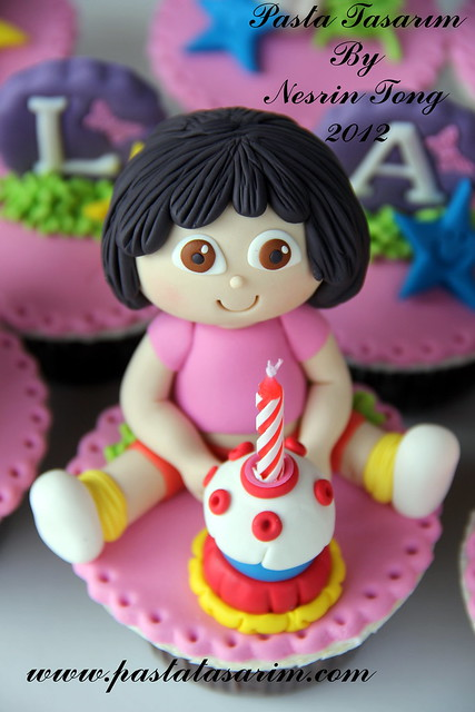 DORA CUPCAKES - ILAYDA BIRTHDAY