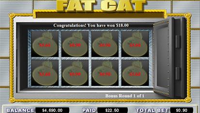 Fat Cat bonus game