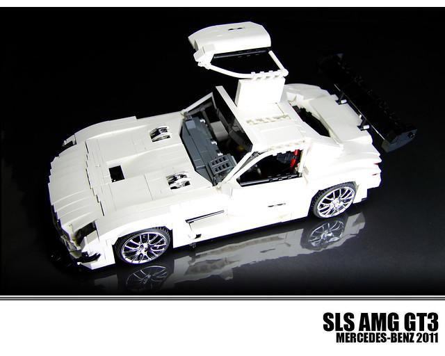 lego mercedes benz sls amg gt3 flickr photo sharing. Black Bedroom Furniture Sets. Home Design Ideas