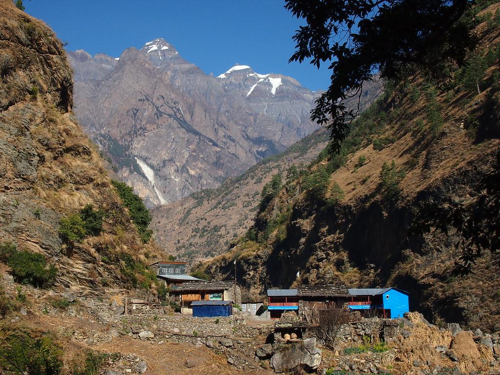Deng-Village-Manaslu Circuit Trek-Nepal