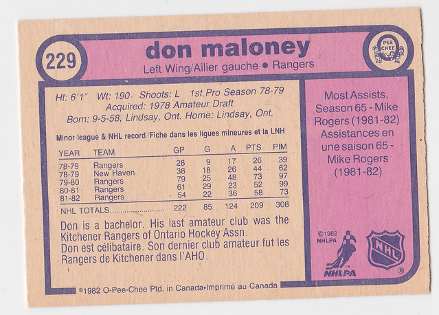 AAA -Caps - Don Maloney - Back