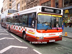 62 SK52 OJF Dennis Super Pointer Dart Plaxton Pointer. South ST Andrew Street EDINBURGH 1