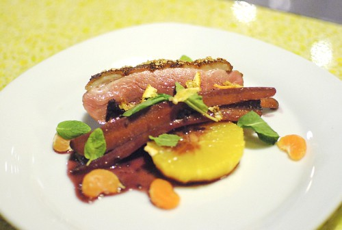 Duck, Orange, Olives, Carrots