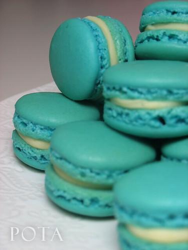Macarons bleu