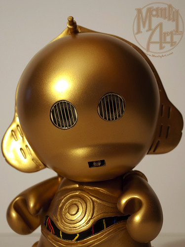 C-3PO Custom Munny- Eyes off
