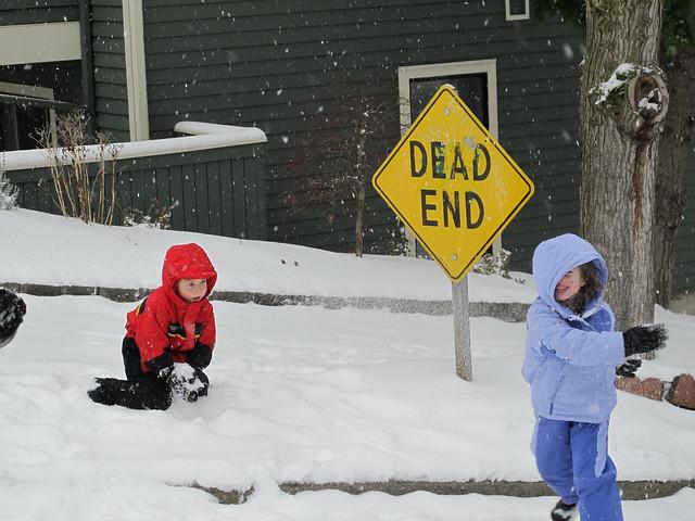 Snow Ball Fight