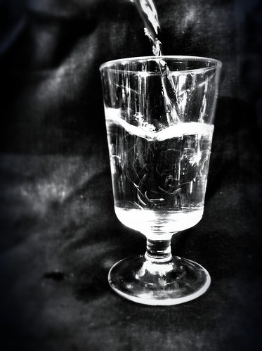 218/365- Glass of water by elineart