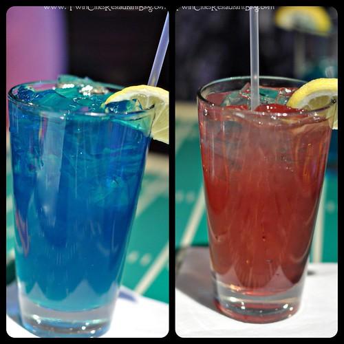 Purple people drinker and Caribbean tea