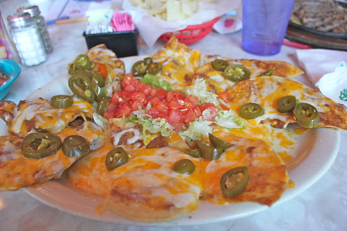 Nachos at Chuy's Mexican Resturant