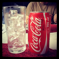 Being American today. CocaCola! #photojojoworkcation
