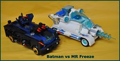 Batman vs Mr Freeze 2025 by Gilcélio