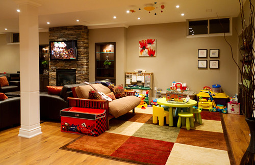 Play Room Finished Basement