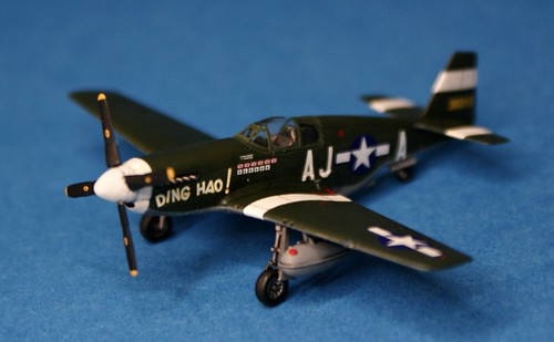 "Sweet 1/144 P-51B Pioneer Mustang ""DING HAO!"" - Completed - 2"
