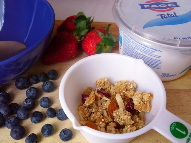 homemade quinoa granola