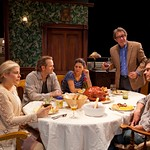 Roberta Wallach (Margaret Horvath), Lee Tergesen (Woodrow Horvath), Katie Kreisler (Roanne Horvath), Larry Pine (Mathew Horvath), and  Karl Baker Olsen (Donald Horvath) in the world premiere production of Bob Glaudini's VENGEANCE IS THE LORD'S at the Huntington, directed by Peter DuBois, Nov. 12 — Dec. 12, 2010 at the Avenue of the Arts / BU Theatre.Part of the Shirley, VT Plays Festival. Photo: T. Charles Erickson