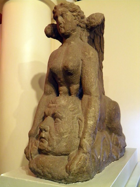 The Colchester Sphinx, Colchester Castle Museum, Camulodunum (Roman Colchester)