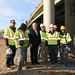 U.S. Secretary of Transportation tours the I-95 Bridge Project in Richmond - Jan. 25, 2012