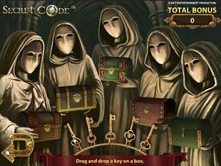 Secret Code bonus game