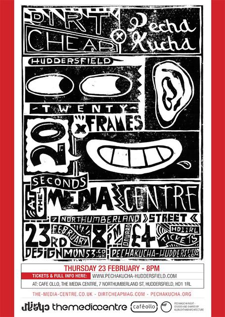PechaKucha x Dirt Cheap Magazine, February 2012