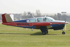 N675BW - 1978 build Beech V35B Bonanza, visiting Kemble