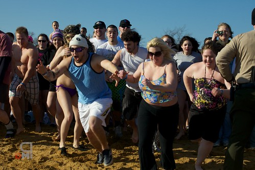 MD MSP Polar Bear Plunge  5….4…..3…..2…..1……Plunge!
