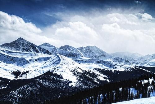[フリー画像素材] 自然風景, 山, 雪山, 風景 - アメリカ合衆国 ID:201202040600