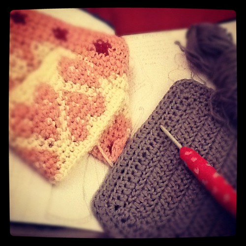 #mydayinphotos 7.30pm swatching, sketching, designing patterns