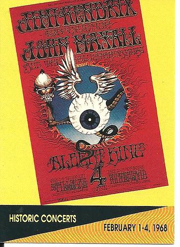 02/01-04/68 Jimi Hendrix/John Mayall @ San Francisco, CA