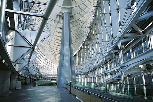 Tokyo International Forum in the daytime