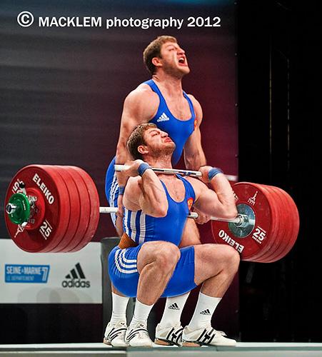 AKKAEV Khadzhimurat RUS 105kg cleans 232 kg