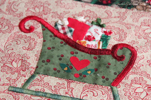 detail of Antoinette's Christmas Crazy