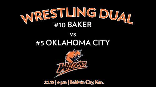 Baker vs OKC Wrestling Dual
