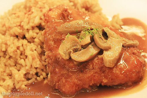 Chicken Mushroom Rice