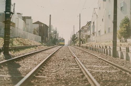 世田谷線カラフル。
