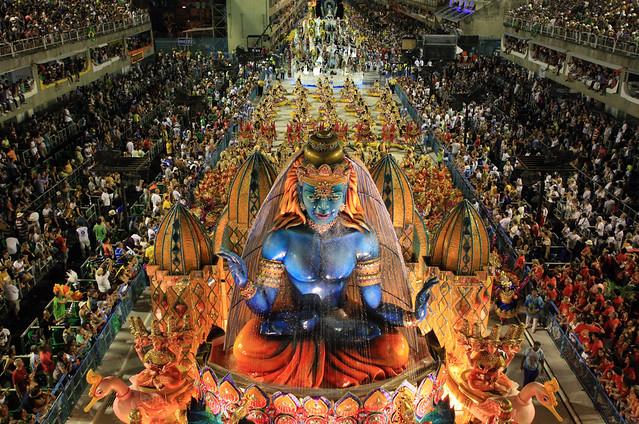 Rio de Janeiro Carnival - Samba Dancing and Unforgettable Entertainment