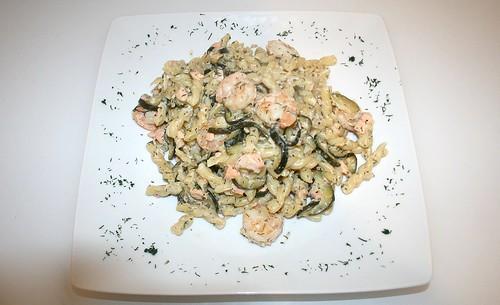 34 - Caipirinha-Nudeln -  Serviert / Caipirinha noodles - served
