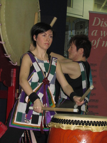 Japanese Taiko Drumming by Joji Hirota