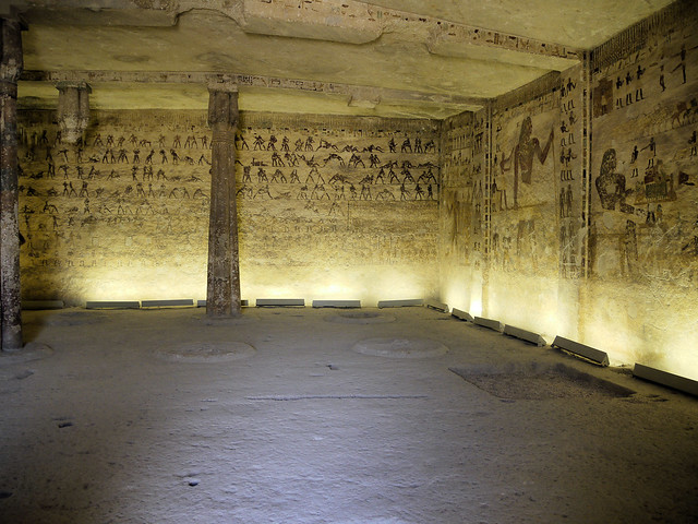 Rock tombs of Bani Hassan