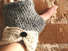 Warm and toasty fingerless gloves