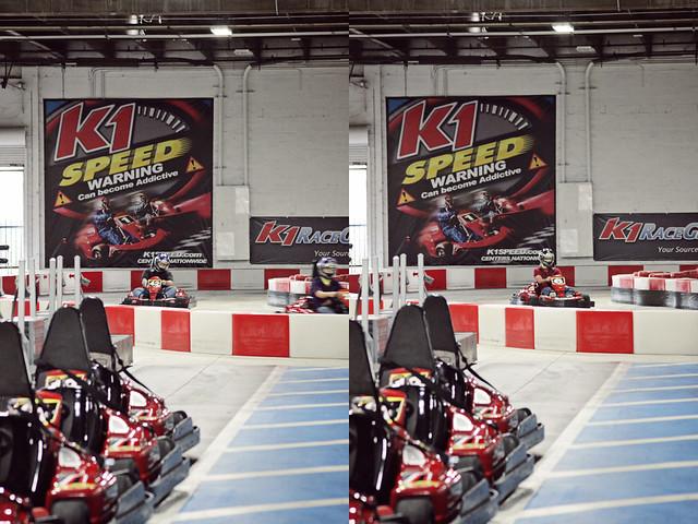 work go-karts 16 diptych