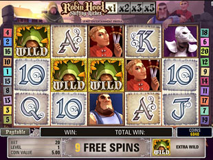 free Robin Hood Shifting Riches slot payout
