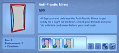 Anti-Frantic Mirror